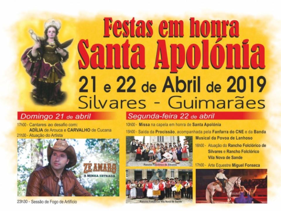 Festividades em Honra de Santa Apolónia