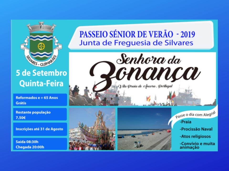 Passeio Sénior de Verão 2019 | Senhora da Bonança