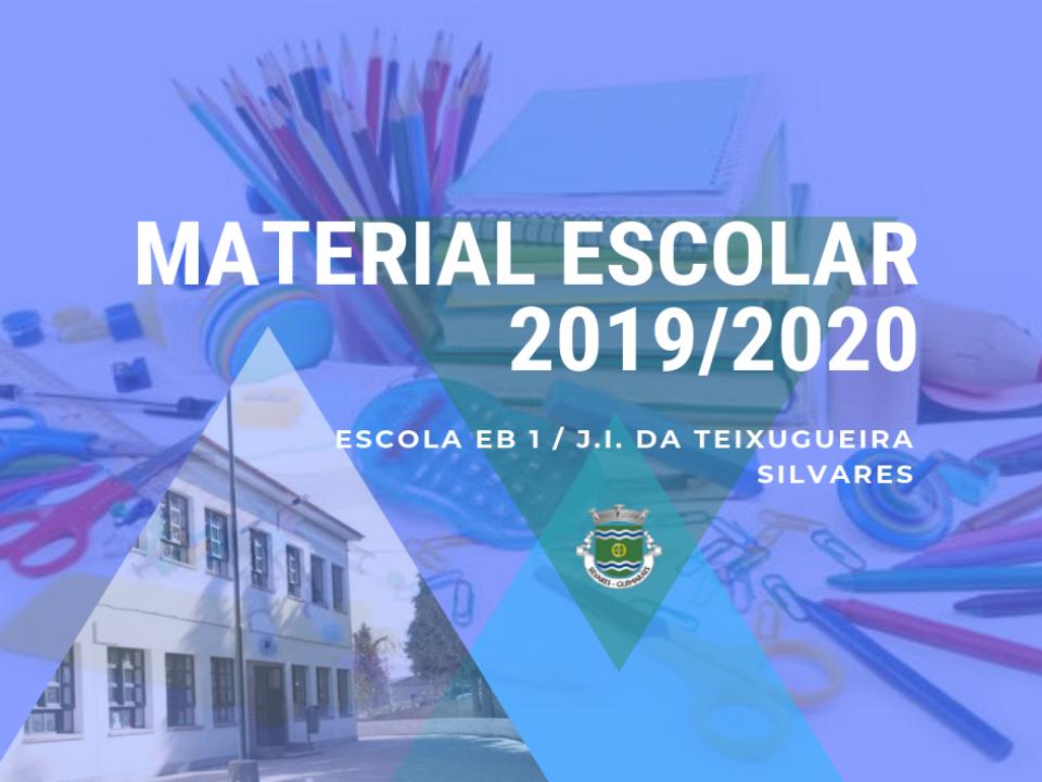 Escola EB1 / JI  da Teixugueira - Silvares | Oferta de Kits de Material Escolar