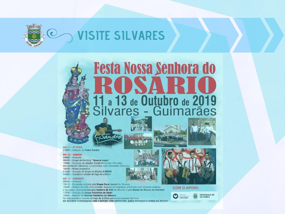 Festas em Honra de Nossa Senhora do Rosário | 2019
