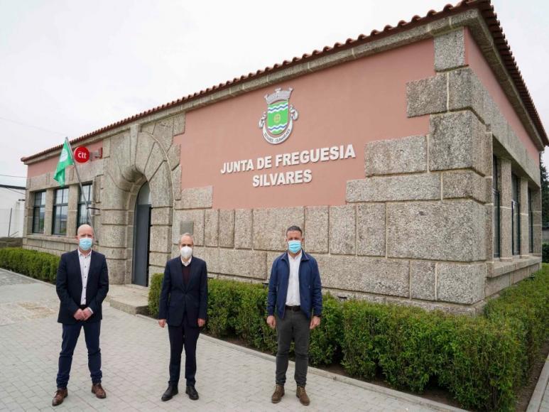 Nova Sede da Junta de Freguesia de Silvares | Visita do Presidente da Câmara