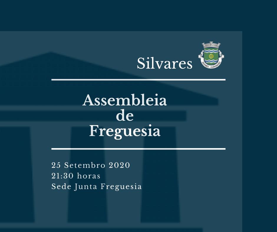 Assembleia de Freguesia de Silvares | Sessão Ordinária 25/09/2020
