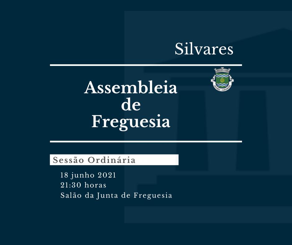 Assembleia de Freguesia de Silvares | Sessão Ordinária 18/06/2021